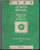 1989 Chrysler Electrical, Fuel & Emissions Front Wheel Drive Car Factory Service Manual (SKU: 8127090031)