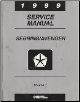 1999 Chrysler Serbring / Dodge Avenger Factory Service Manual Volume 1 (SKU: 812709117)