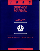 1993 Dodge Dakota Factory Service Manual (SKU: 8133703110)