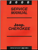 2000 Jeep Cherokee Service Manual (SKU: 813700046)