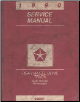 1990 Dodge D&W 150-350 Ramcharger Rear Wheel Drive Truck Service Manual (SKU: 813700108)