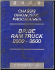 2002 Dodge Ram Truck BR / BE 2500 - 3500 Chassis Diagnostic Procedures (SKU: 8137002010)