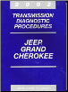 2002 Jeep Grand Cherokee Transmission Diagnostic Procedures (SKU: 8137002046)