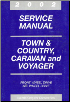2002 Chrysler Town & Country, Dodge Caravan & Plymouth Voyager Service Manual (SKU: 8137002062)