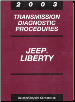 2003 Jeep Liberty Transmission Diagnostic Procedures (SKU: 8137003026)