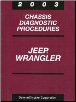 2003 Jeep Wrangler Chassis Diagnostic Procedures (SKU: 8137003040)