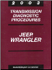2003 Jeep Wrangler Transmission Diagnostic Procedures (SKU: 8137003043)