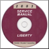 2003 Jeep Liberty Service Manual - CD Rom (SKU: 8137003060CD)