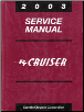2003 Chrysler PT Cruiser Service Manual (SKU: 8137003061)