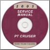 2003 Chrysler PT Cruiser Service Manual - CD Rom (SKU: 8137003061CD)