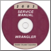 2003 Jeep Wrangler Service Manual - CD Rom (SKU: 8137003063CD)