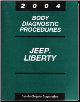 2004 Jeep Liberty Factory Body Diagnostic Procedures Manual (SKU: 8137004027)