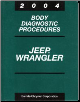 2004 Jeep Wrangler Factory Body Diagnostic Procedures Manual (SKU: 8137004041)