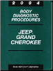 2004 Jeep Grand Cherokee Body Diagnostic Procedures (SKU: 8137004048)
