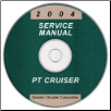 2004 Chrysler PT Cruiser Service Manual- CD Rom (SKU: 8137004061CD)