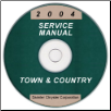 2004 Chrysler Town & Country Service Manual - CD Rom (SKU: 8137004062CD)