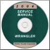 2004 Jeep Wrangler Service Manual - CD ROM (SKU: 8137004063CD)