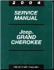 2004 Jeep Grand Cherokee Service Manual (SKU: 8137004064)