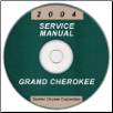2004 Jeep Grand Cherokee Service Manual- CD Rom (SKU: 8137004064CD)
