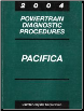 2004 Chrysler Pacifica Factory Powertrain Diagnostic Procedures Manual (SKU: 8137004082)