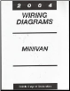 2004 Chrysler Town & Country / Dodge Caravan / Plymouh Voyager Wiring Diagrams (SKU: 8137004362)