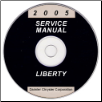 2005 Jeep Liberty Service Manual- CD Rom (SKU: 8137005060CD)