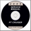 2005 Chrysler PT Cruiser Service Manual- CD Rom (SKU: 8137005061CD)