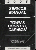 2005 Chrysler Town & Country Dodge Caravan Service Manual (SKU: 8137005062)