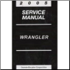 2005 Jeep Wrangler Factory Service Manual (SKU: 8137005063)
