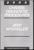 2006 Jeep Wrangler Chassis Diagnostic Procedures (SKU: 8137006040)