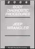 2006 Jeep Wrangler Body Diagnostic Procedures (SKU: 8137006041)