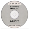 2006 Jeep Liberty Service Manual- CD Rom (SKU: 8137006060CD)