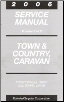 2006 Chrysler Town & Country / Dodge Caravan Service Manual - 2 Volume Set (SKU: 8137006062)