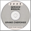 2006 Jeep Grand Cherokee Service Manual- CD Rom (SKU: 8137006064CD)
