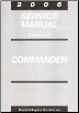 2006 Jeep Commander Factory Service Manual - 4 Volume Set (SKU: 8137006065)