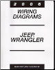 2006 Jeep Wrangler Factory Wiring Diagram Manual (SKU: 8137006363)