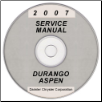 2007 Dodge Durango & Chrysler Aspen (HB/HG) Service Manual on CD *XML & SVG* (SKU: 8137007058CD)