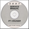 2007 Chrysler PT Cruiser Service Manual on CD *XML & SVG* (SKU: 8137007061CD)
