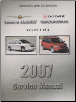 2007 Dodge Caravan, Chrysler Town & Country (RS) Service Manual - 2 Volume Set (SKU: 8137007062)