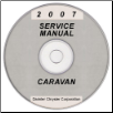 2007 Dodge Caravan, Chrysler Town & Country (RS Body) Service Manual on CD-ROM (SKU: 8137007062CD)