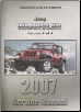 2007 Jeep Wrangler (JK) Service Manual - 4 Volume Set (SKU: 8137007063)