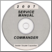 2007 Jeep Commander (XK) Service Manual on CD *XML & SVG* (SKU: 8137007065CD)