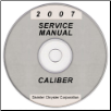 2007 Dodge Caliber Service Manual on CD-ROM (SKU: 8137007066CD)