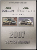 2007 Jeep Patriot & Compass Service Manual - 4 Volume Set (SKU: 8137007067)