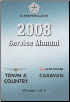 2008 Dodge Caravan & Chrysler Town & Country (RT) Service Manual - 5 Volume Set (SKU: 8137008062)