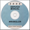 2008 Jeep Wrangler (JK) Service Manual ON CD (SKU: 8137008063CD)