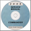 2008 Jeep Commander (XK) Service Manual - CD-ROM (*XML & SVG*) (SKU: 8137008065CD)