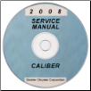 2008 Dodge Caliber (PM) Service Manual ON CD (SKU: 8137008066CD)