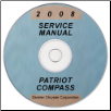2008 Jeep Compass and Patriot Factory Service Manual on CD (SKU: 8137008067CD)