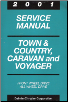 2001 Chrysler Town & Country, Dodge Caravan & Plymouth Voyager Service Manual (SKU: 813701005)
